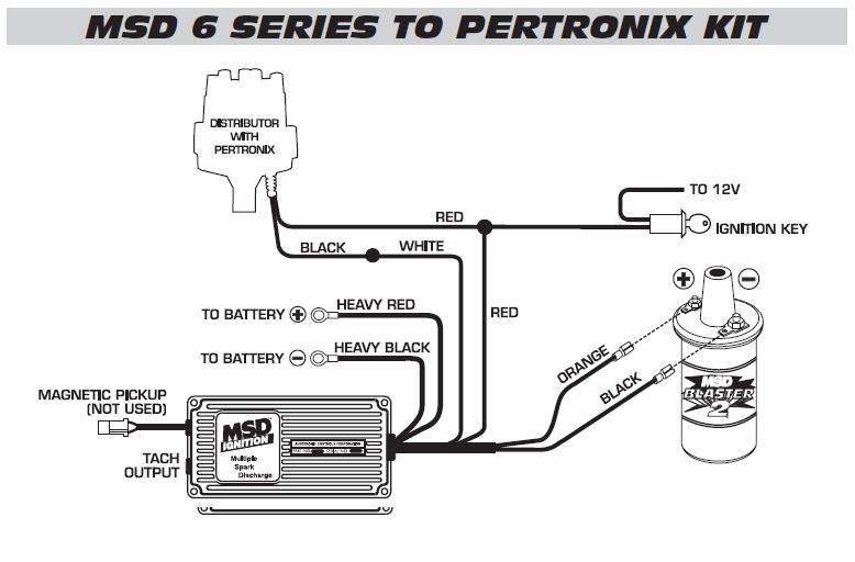 Ford Electronic Distributor Wiring Diagram