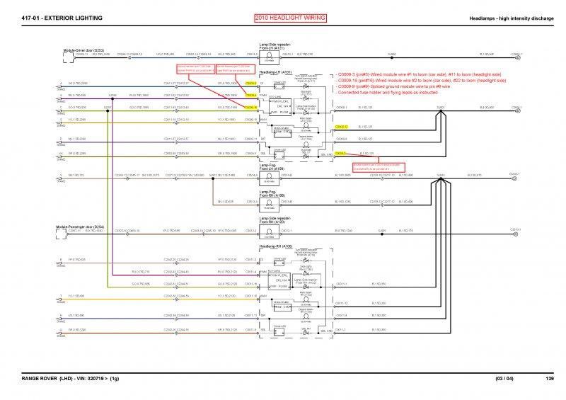 06 To 12 Headlight Wiring Schematics Page 2 Rangerovers Net Forum