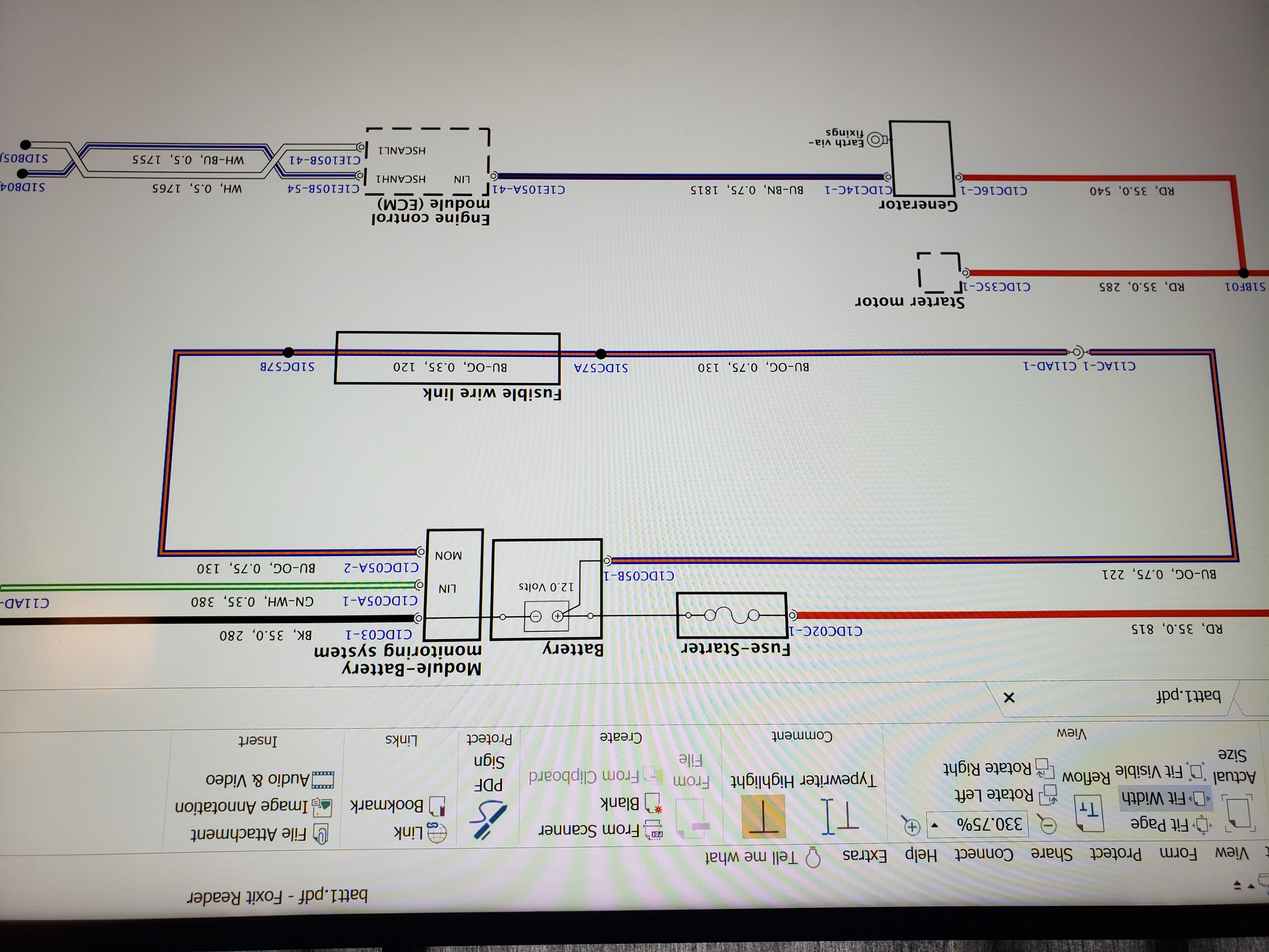 Charging system fault-20190123_121233.jpg