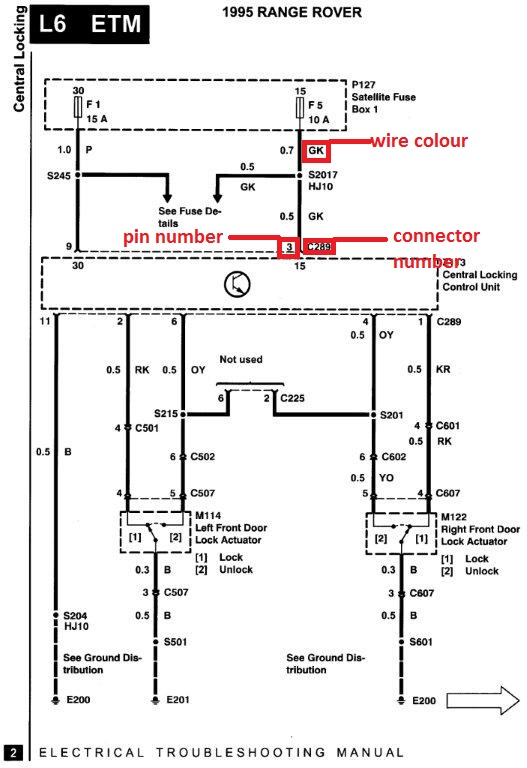 93 SE door actuator wiring colors | Page 2 | Range Rovers Forum | Vs Commodore Central Locking Wiring Diagram |  | Range Rovers Forum
