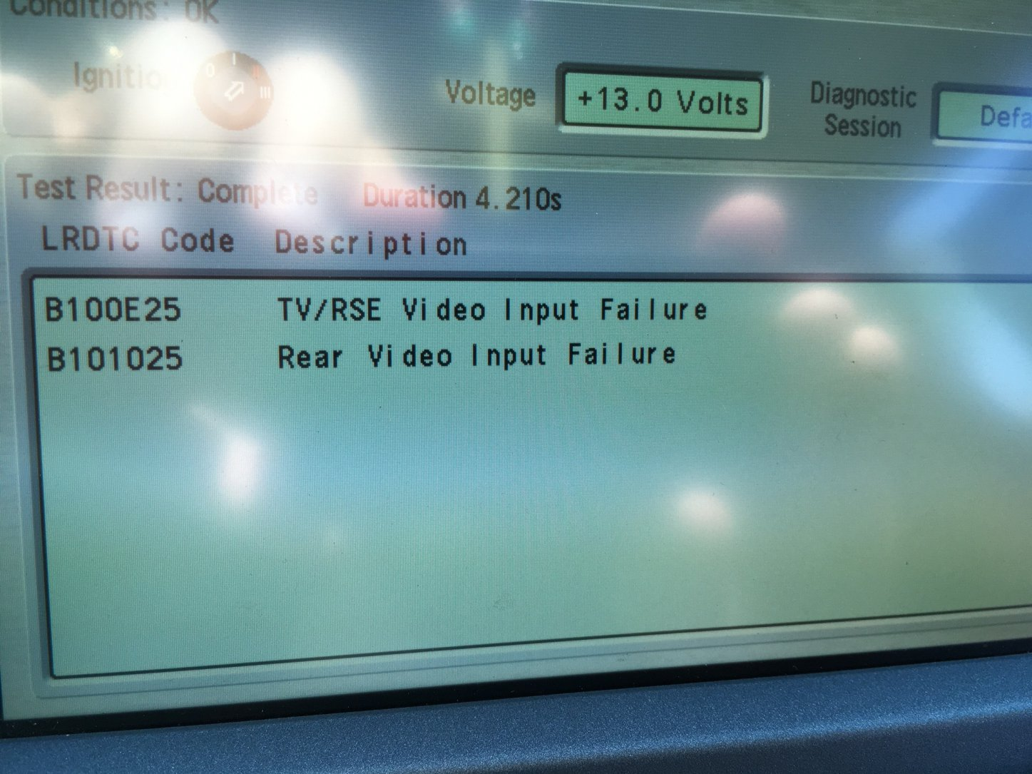 U0026quot A  V Off U0026quot   Most Loop Failure  Intermittent Audio