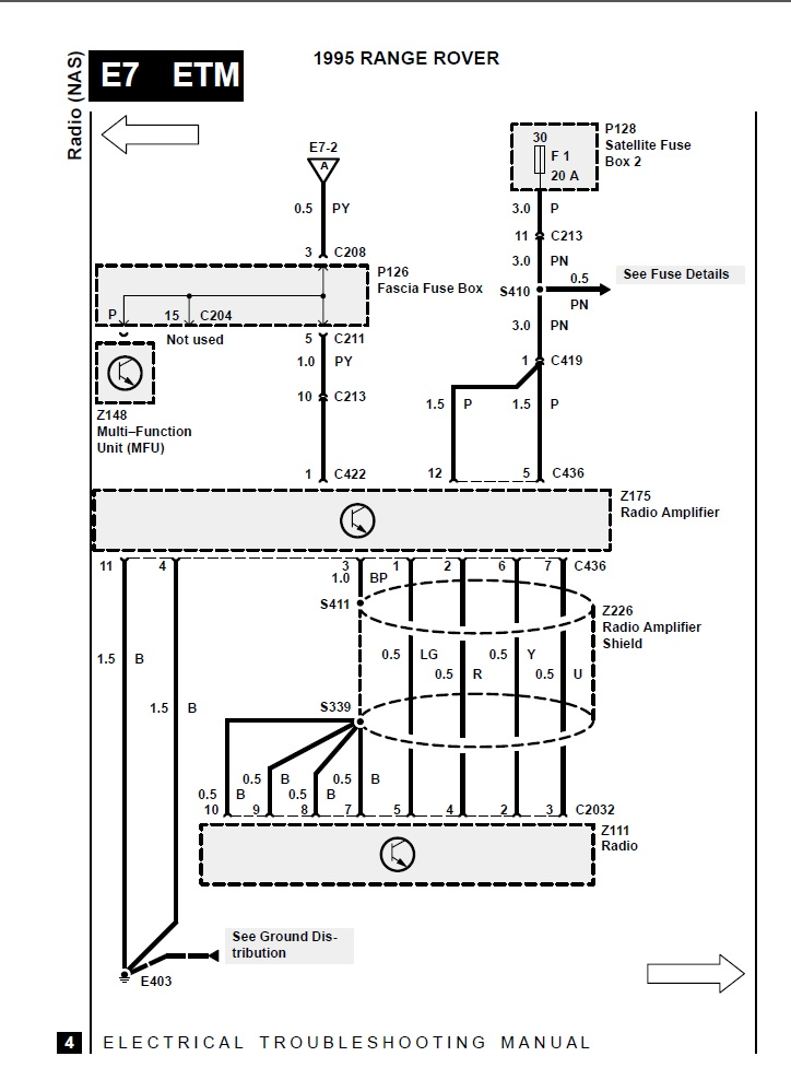 1995 Rrc Stereo Wiring Diagram