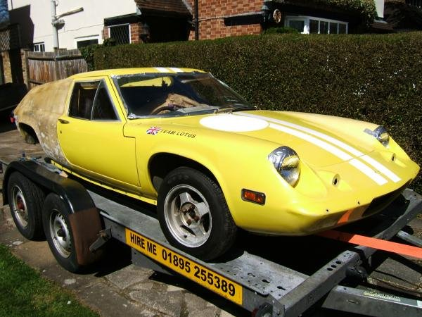 Showcase cover image for digby's 1972 Lotus Europa
