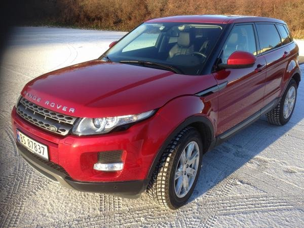 Showcase cover image for Lippers's 2014 Range Rover Evoque 2,2 TD4