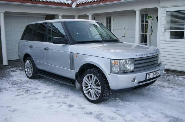 Showcase cover image for Range Rover TD6