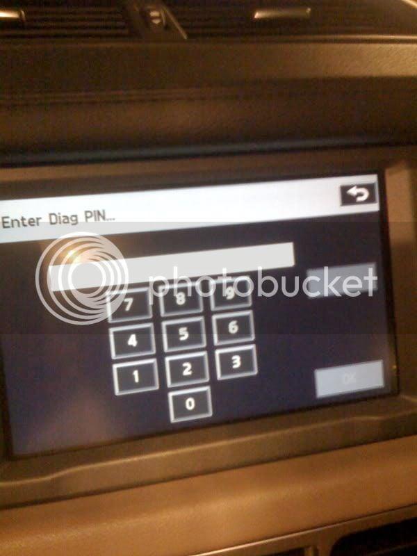 Hidden diagnostic menu button? | RangeRovers net Forum