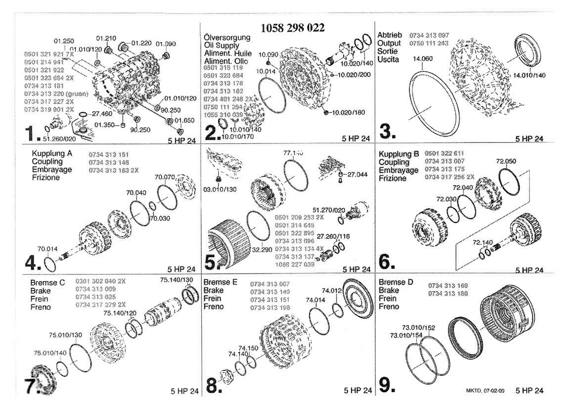 ZF5P24 bad bearing and broken seal issue | RangeRovers net Forum