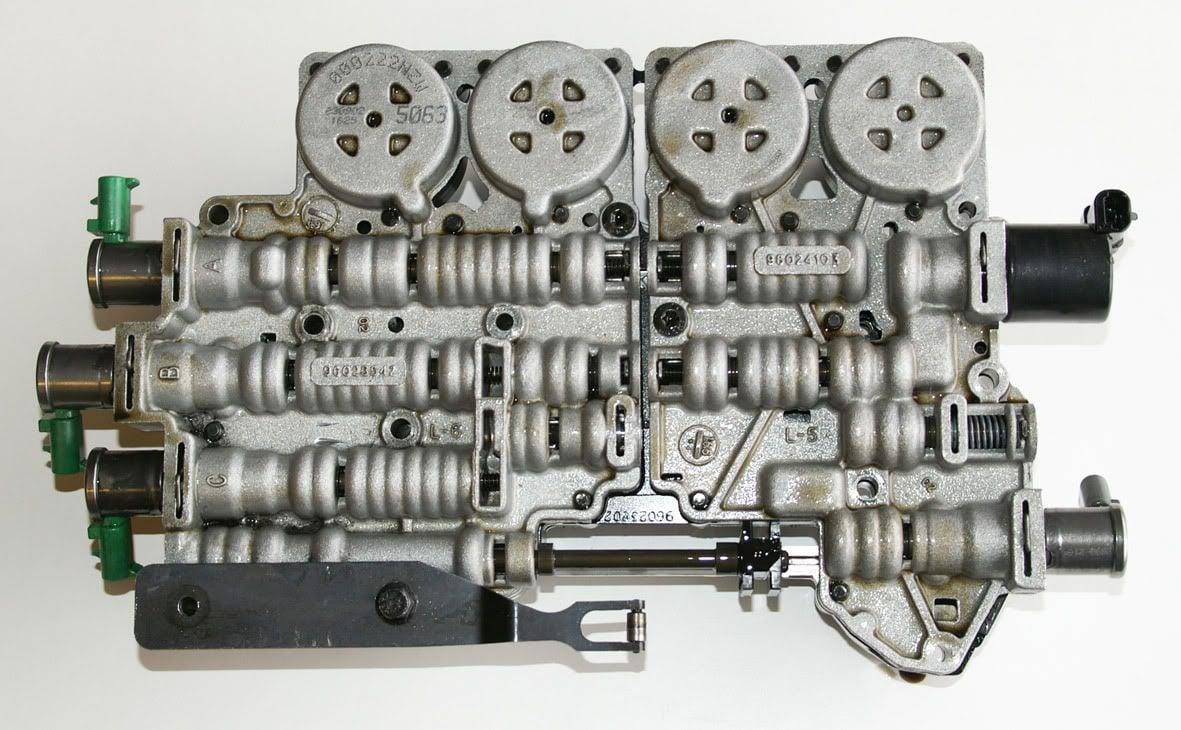GM 5L40E Transmission Fault Code Pressure Line Solenoid 4