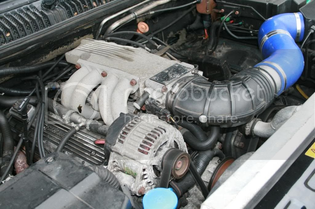Overfinch 570 - 350 Chevy Small Block | RangeRovers net Forum