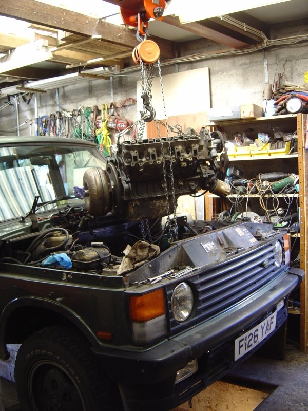 Remove The Torque Converter With The Engine