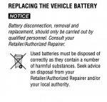 Battery replacement | RangeRovers net Forum