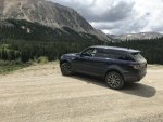 Practice Social Distancing With A Range Rover