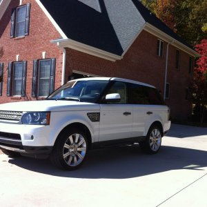 2011 RRS Supercharged Fiji White